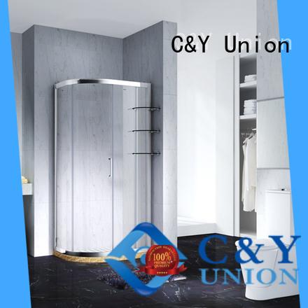 aluminum semi framed shower manufacturer for standalone showers