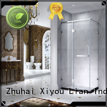 Hot shower glass shower doors for tub quality CYUNION Brand