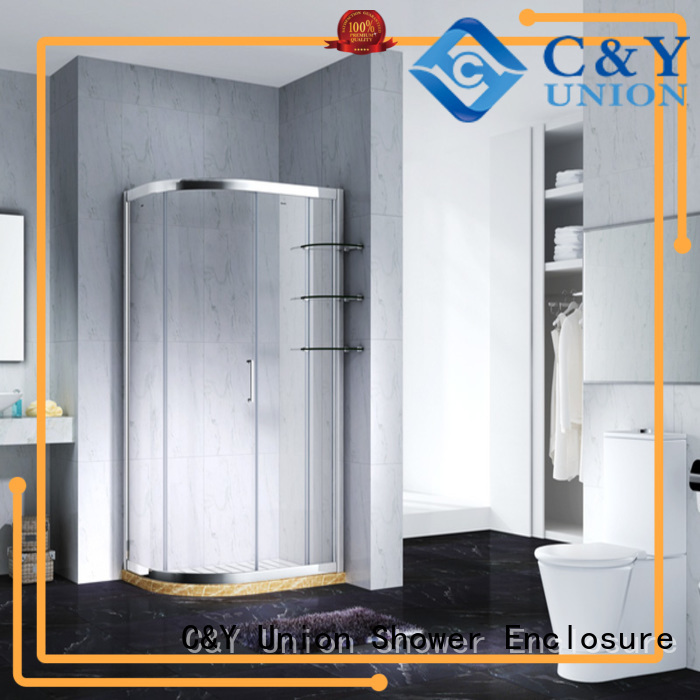 durable chrome framed shower door for bagnio C&Y Union
