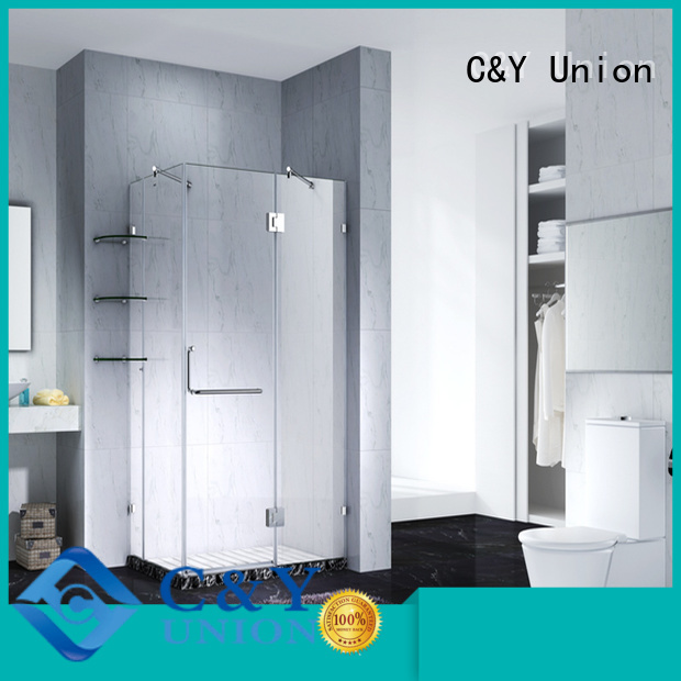 C&Y Union practical frameless shower shower panels for bathtub