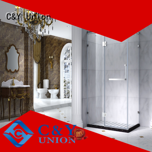 popular framed shower glass doors for sale for bagnio