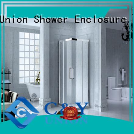 sliding framed shower enclosure manufacturer for bathtub showers