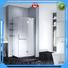 frameless hinged pivot shape frameless corner shower doors CYUNION Brand