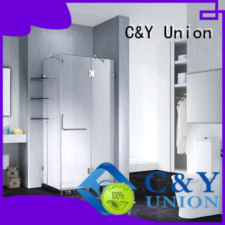 frameless sliding glass doors cy6231 bathtub C&Y Union