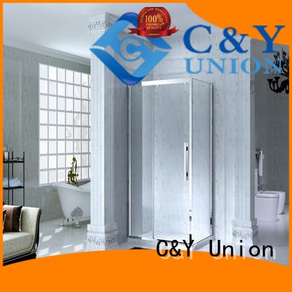 stainless steel steel framed shower enclosure manufacturer bath C&Y Union