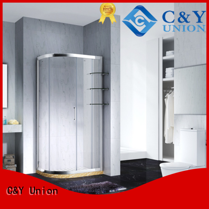 stainless steel semi framed shower door for tub for bathtub showers