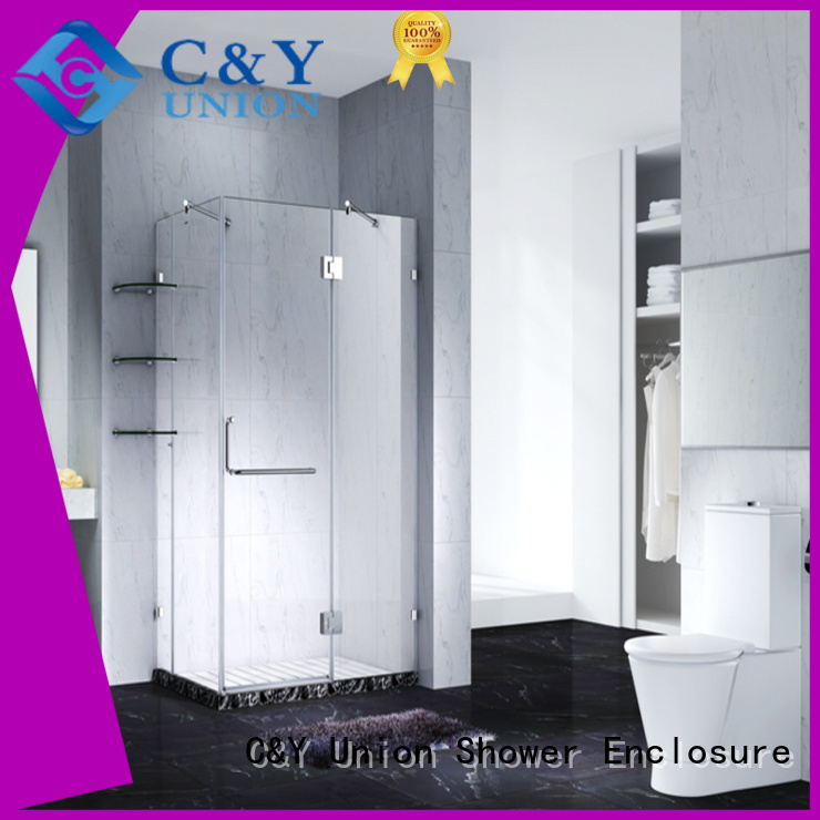 high quality frameless glass doors cubicles for tub