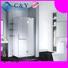 elegant frameless sliding glass doors cubicles for bath C&Y Union