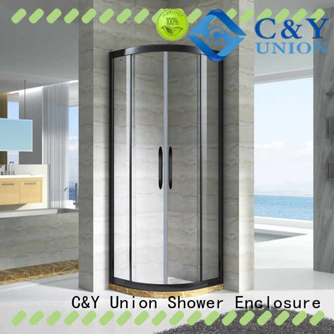 practical custom framed shower doors with sliding door for bagnio