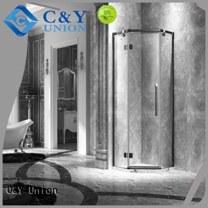 C&Y Union stable glass shower enclosures for shower room