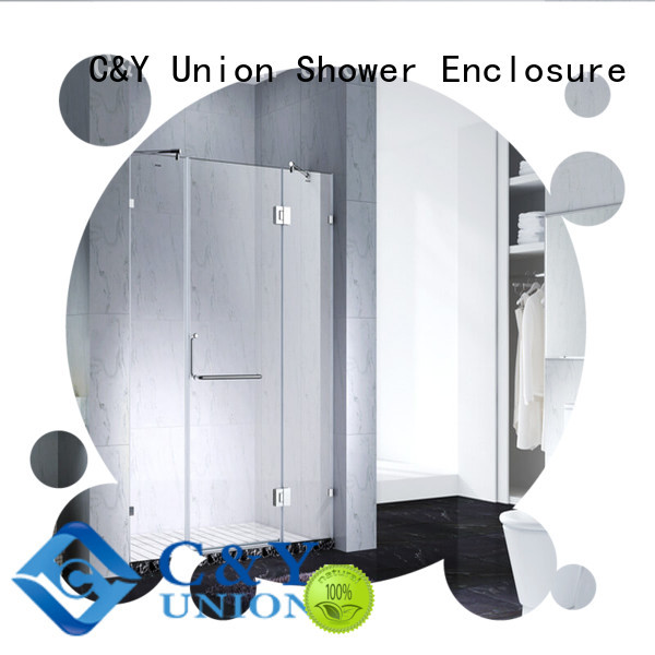 stable frameless shower screen factory for bathroom