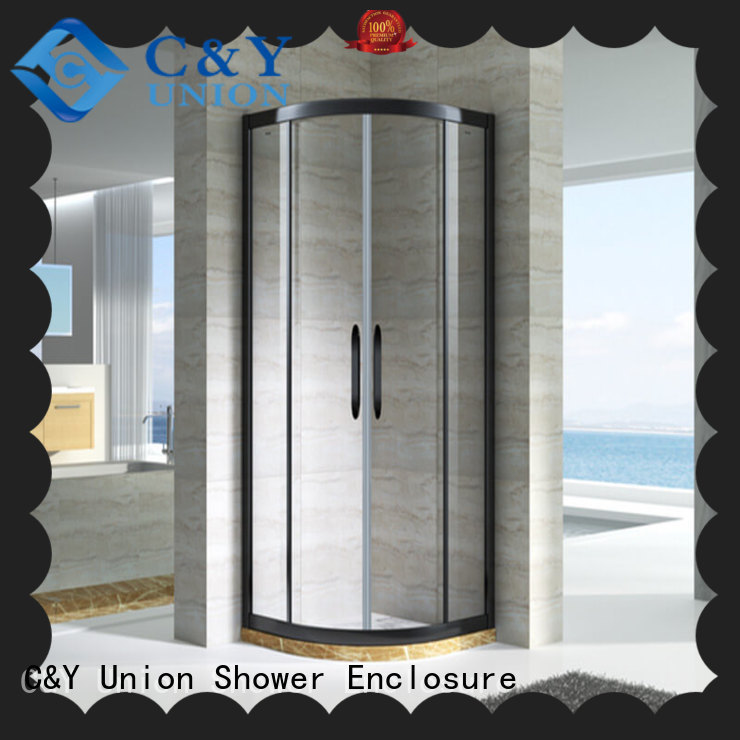C&Y Union durable framed shower glass doors manufacturer for standalone showers