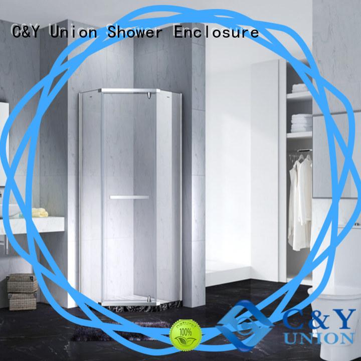 elegant frameless glass doors easy clean for tub