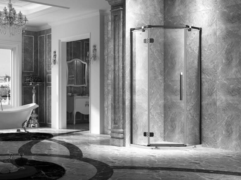 C&Y Union frameless glass shower doors factory for shower room