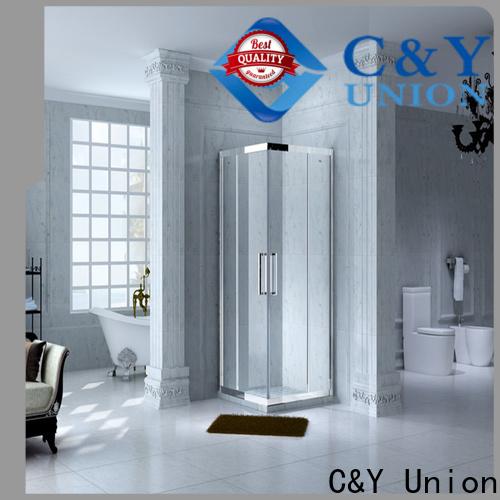 C&Y Union framed glass shower enclosure manufacturer for bathroom