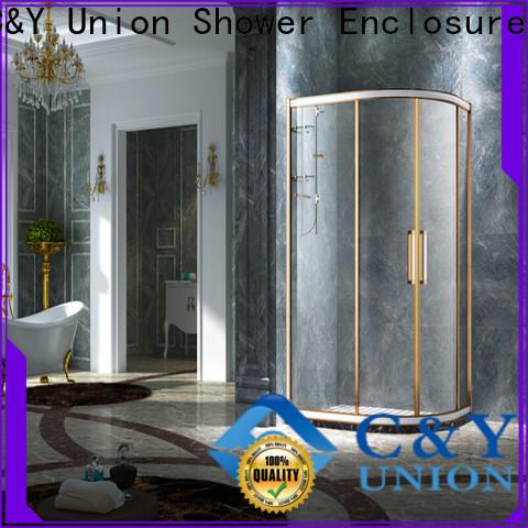 C&Y Union durable framed shower enclosure manufacturer for bathtub showers