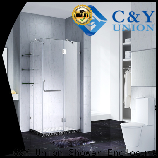 firm frameless shower enclosure factory for shower room