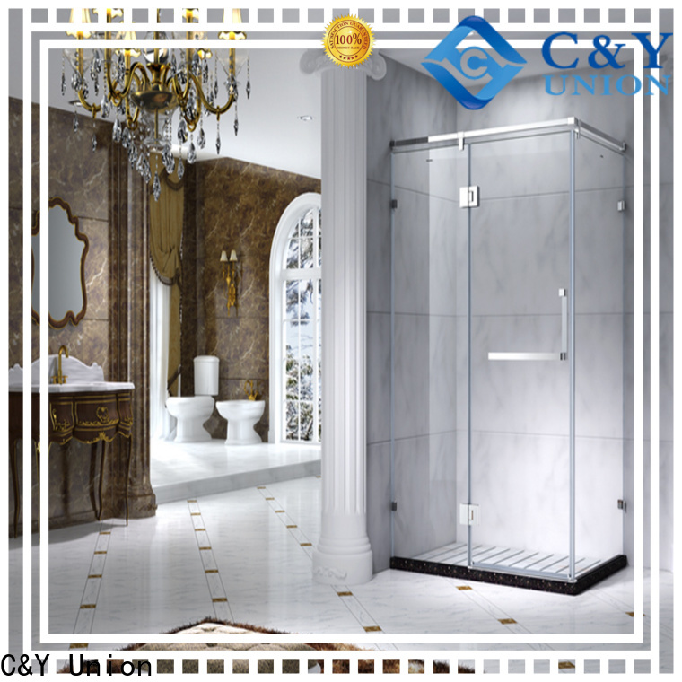 elegant shower cabin for corner