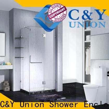 high quality frameless glass shower factory for tub