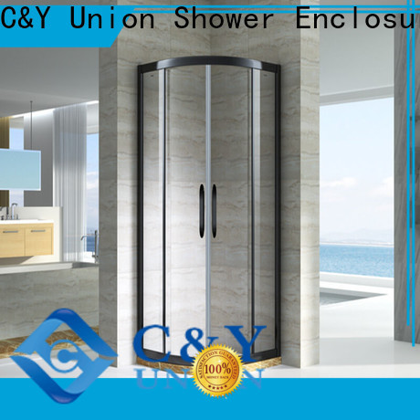 C&Y Union semi framed shower for sale for alcove