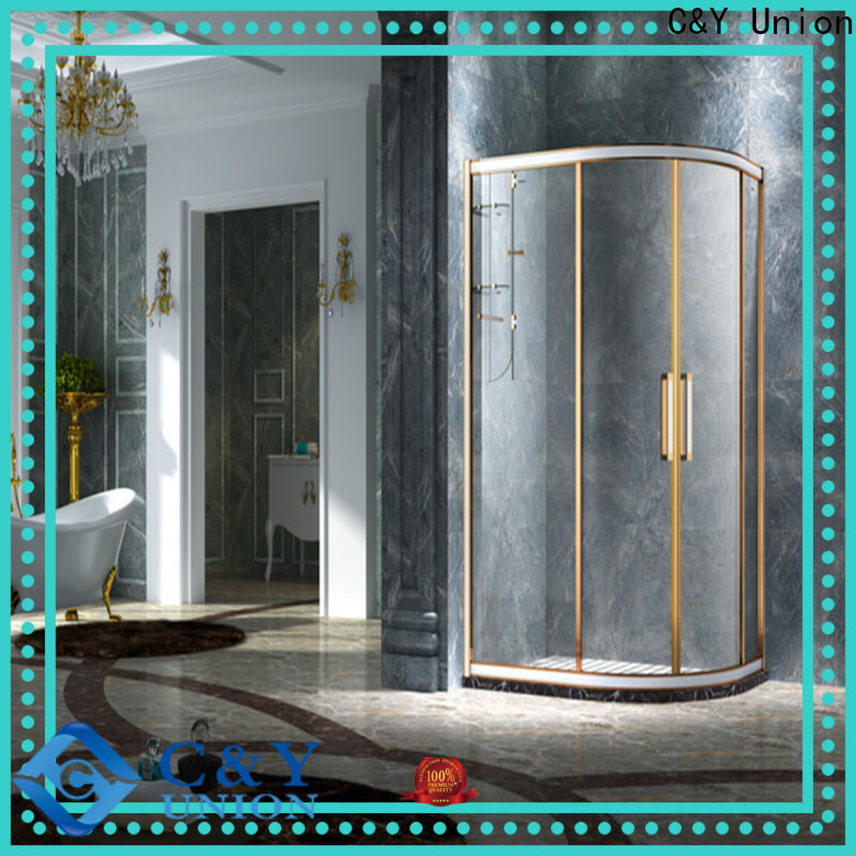 aluminum semi framed shower door for tub for alcove