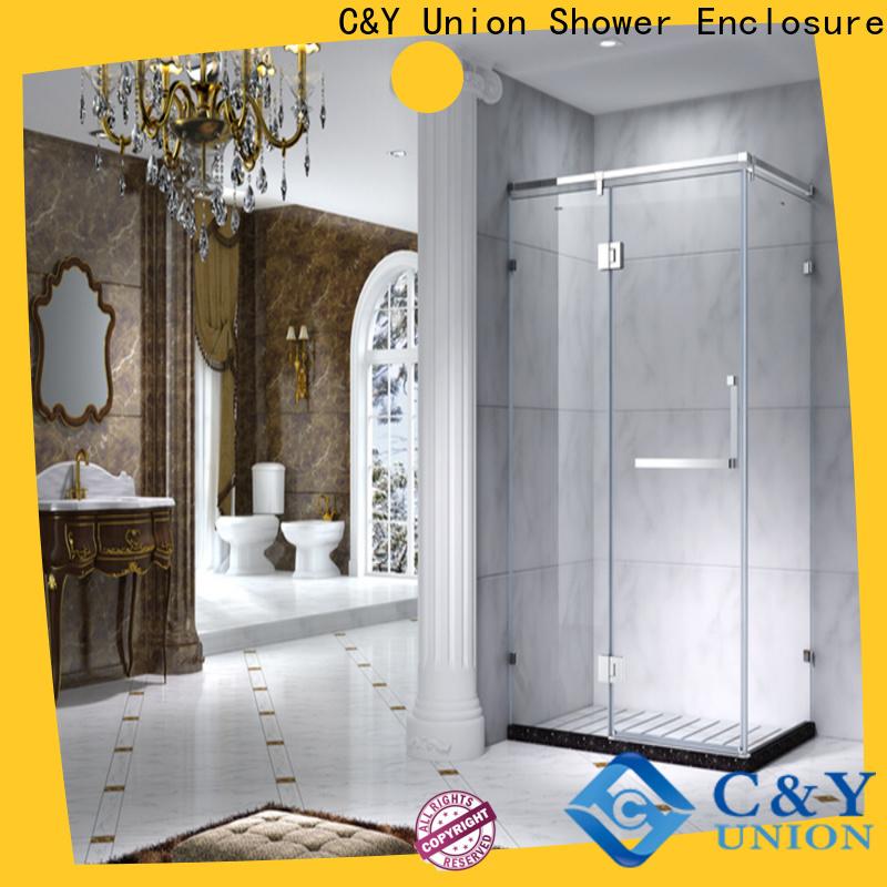 C&Y Union framed shower enclosure manufacturer for bath
