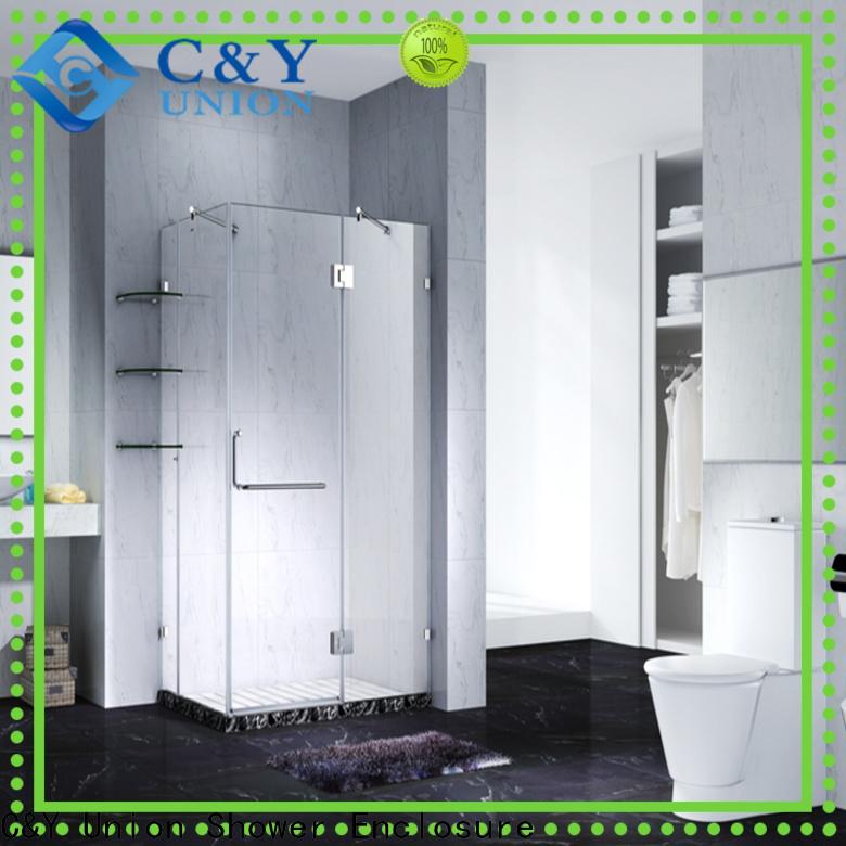 high quality frameless glass shower doors cabin for bagnio