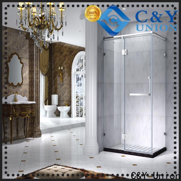 aluminum shower cabin for alcove