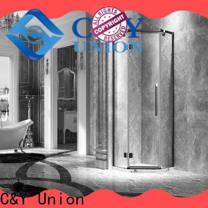 firm frameless shower screen factory for bathtub