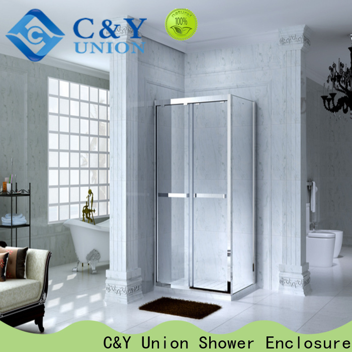 C&Y Union shower cabin with sliding door for bath