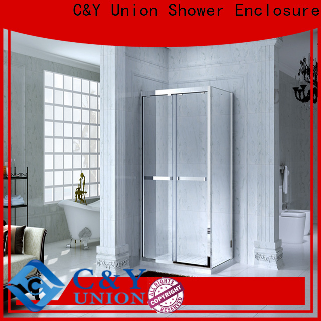 C&Y Union colorful framed glass shower door for bagnio