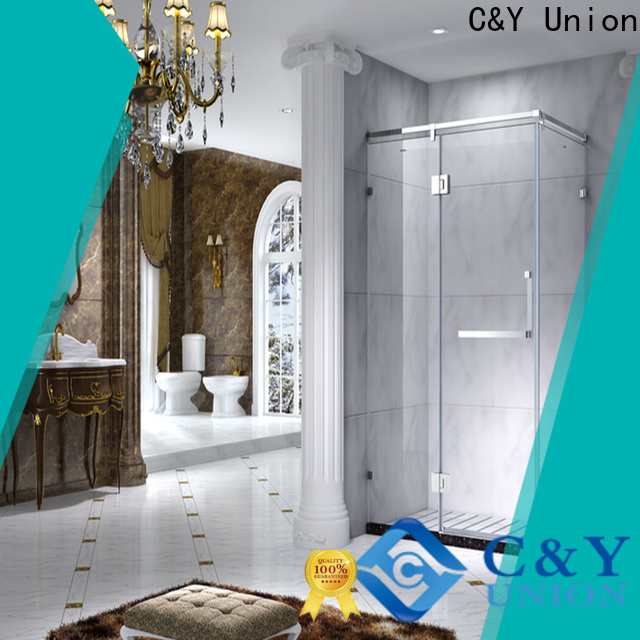 aluminum framed shower glass doors manufacturer for bagnio