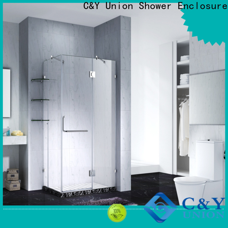 C&Y Union glass shower enclosures cubicles for tub