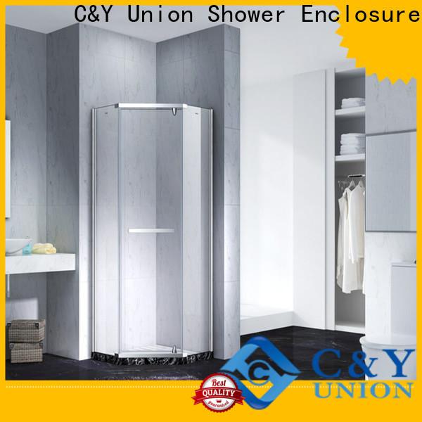 elegant frameless glass shower doors for shower room
