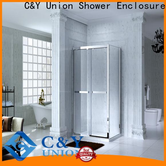 popular semi framed shower door for sale for bathtub showers