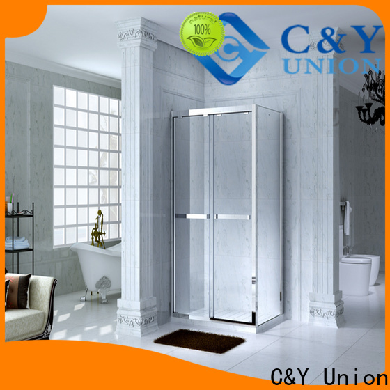 C&Y Union framed glass shower for sale for shower room