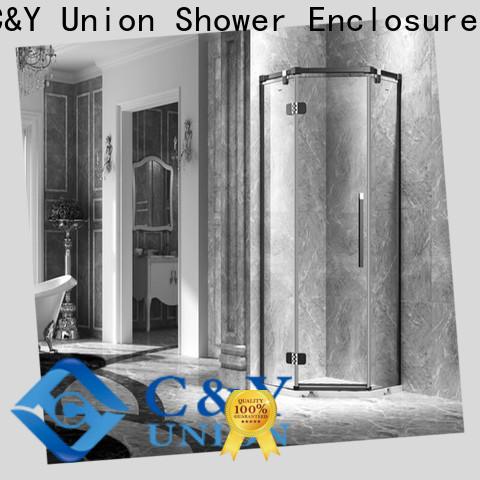 C&Y Union stable glass shower enclosures shower panels for bath