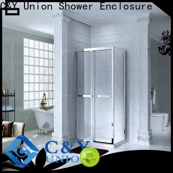 C&Y Union framed glass shower manufacturer for bagnio