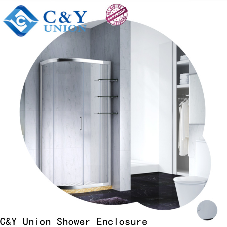 durable semi framed shower for shower room
