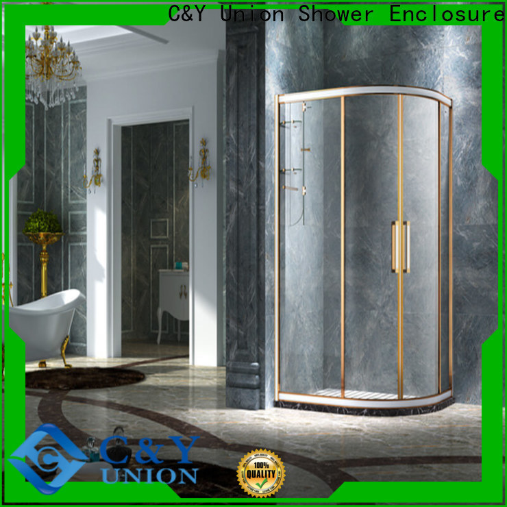 stainless steel framed shower enclosure for tub for bath