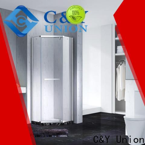 C&Y Union frameless shower screen shower screen for bathroom