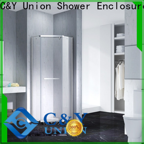 C&Y Union glass shower enclosures shower screen for shower room