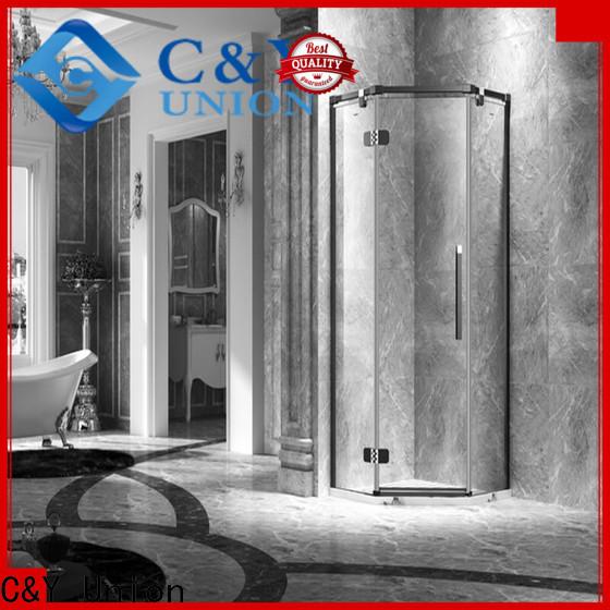stable frameless shower easy clean for tub
