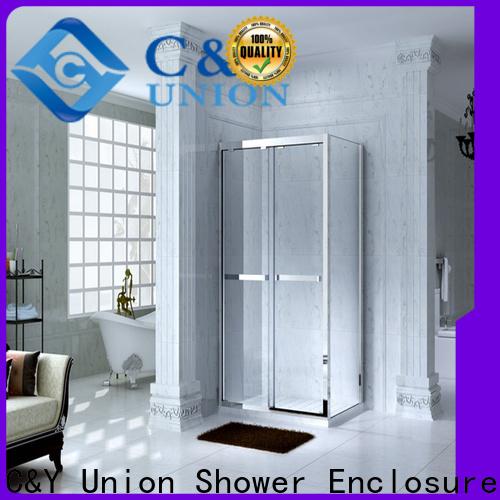 C&Y Union framed shower enclosure for tub for bath