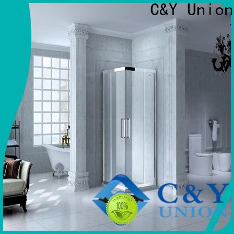 durable framed glass shower door manufacturer for standalone showers