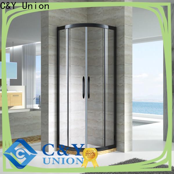 C&Y Union popular framed glass shower for sale for bathroom