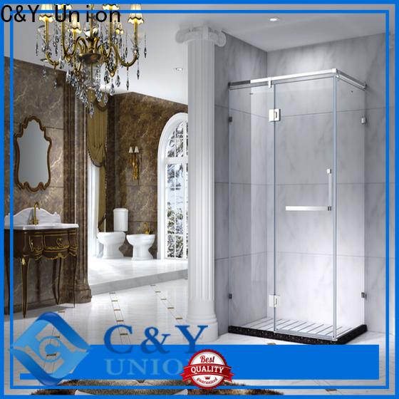 aluminum framed shower enclosure for tub for shower room