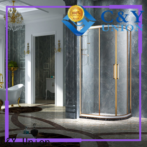 durable framed glass shower for sale for alcove
