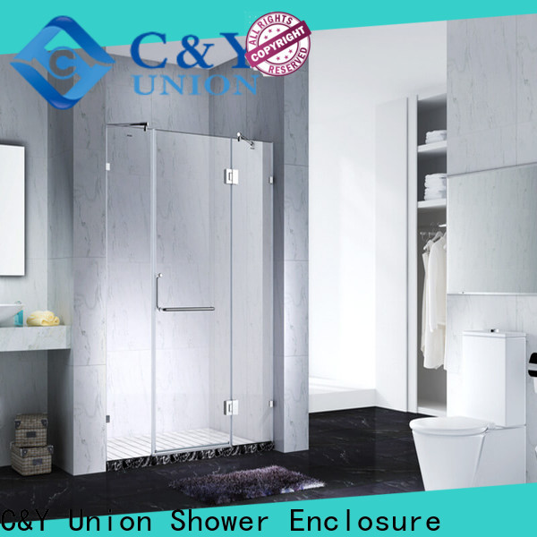 high quality frameless shower screen easy clean for shower room