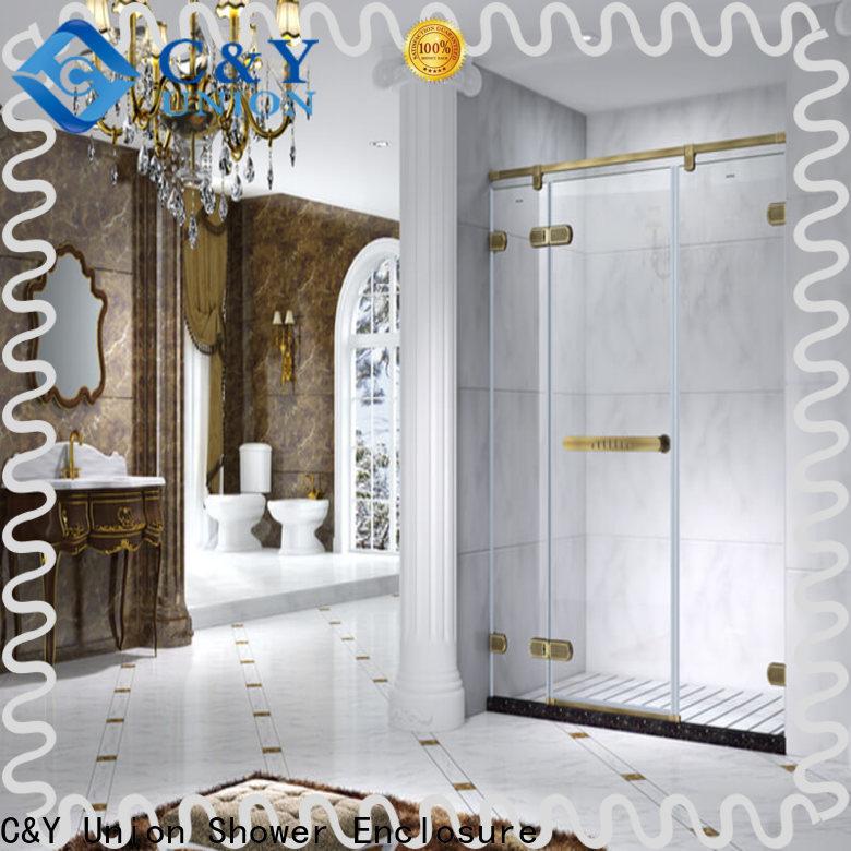 C&Y Union glass shower enclosures cubicles for bath
